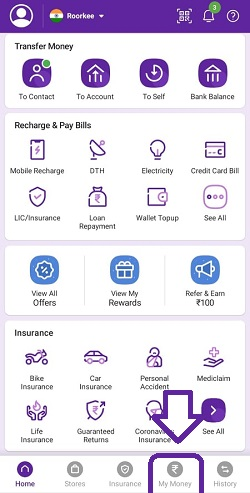How to change Bank account in PhonePe