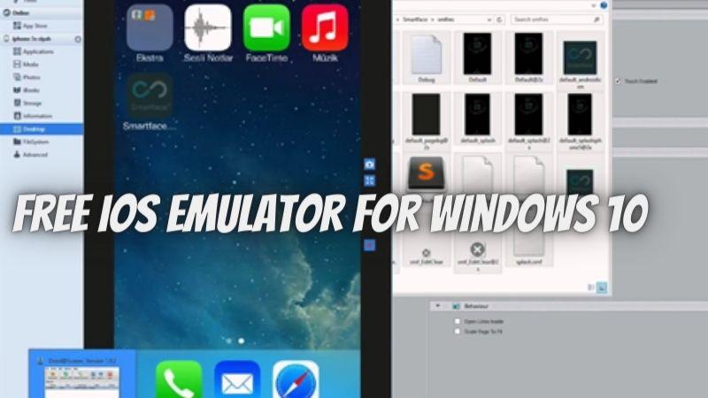 Top 4 Free iOS Emulator For Windows 10